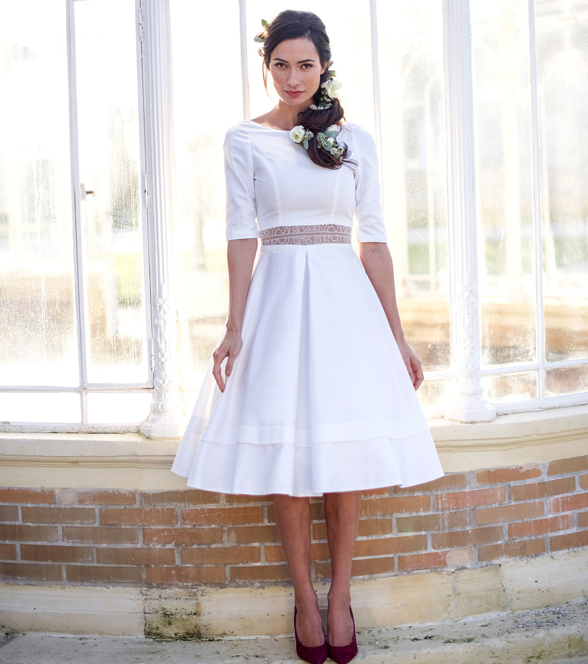 Photo robe de mari e elise martimort collection boh me for Collection de robe de mariage disney